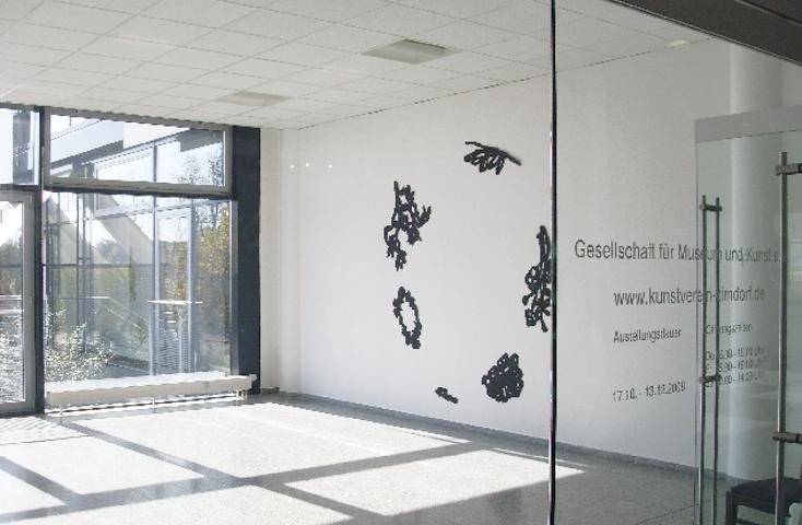 Astwerk aus der Reihe ZEITLAUF 3 x 3 m - Kunstverein Zirndorf MUK