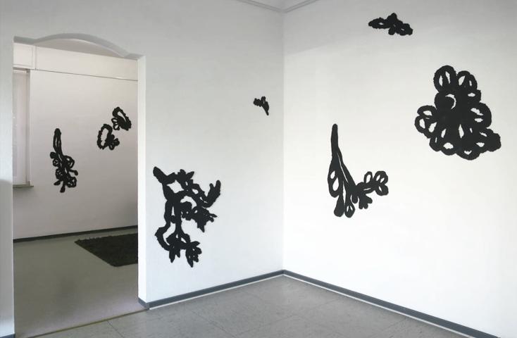 Installation Astwerk - Galerie AUF - Essen
