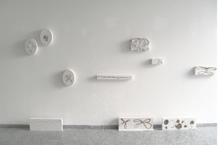 Installation Gips - 2,5 x 4 m - Kunstverein Zirndorf MUK